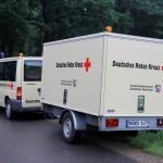 Der Betreuungsanhänger enthält Material zur Betreuung unverletzter Betroffener