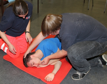 Erste Hilfe-Lehrgang in Kierspe