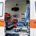 Das Fahrzeug bietet genug Platz zur Behandlung während einer Veranstaltung